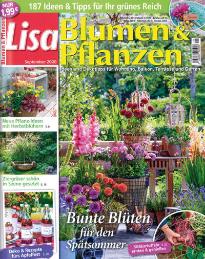 Lisa Blumen & Pflanzen im Lesezirkel mieten statt kaufen